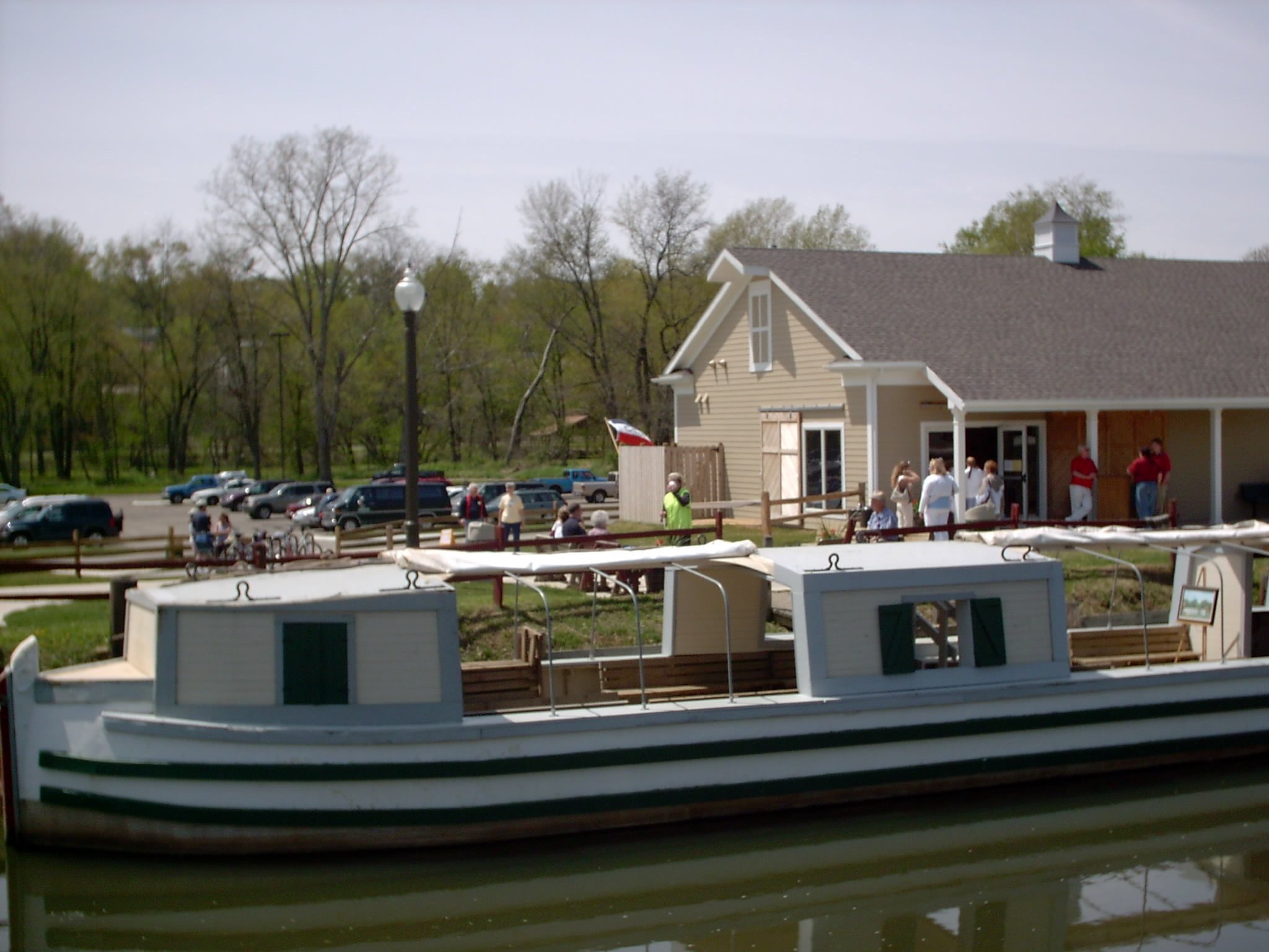 St. Helena III Docked at Canalway Center