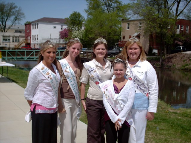Olde Canal Days Queen & Court