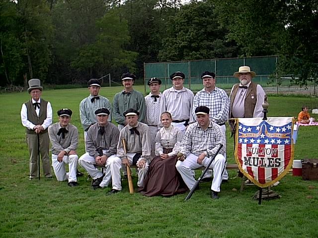 Vintage Baseball Team _