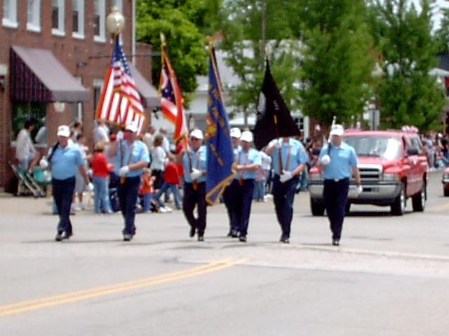 Memorial Day VFW Color Gurad