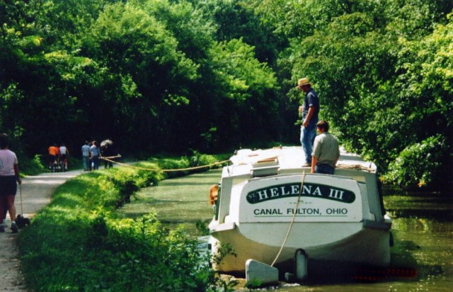 St.Helena III Heading Back to Port