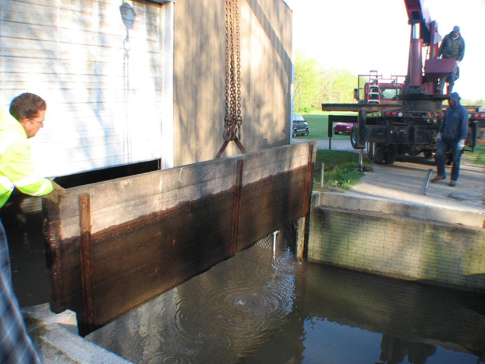 Lifting the Gates to the Dry Dock
