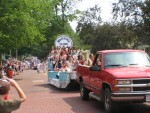 Canal Queens Greeting Parade Spectators